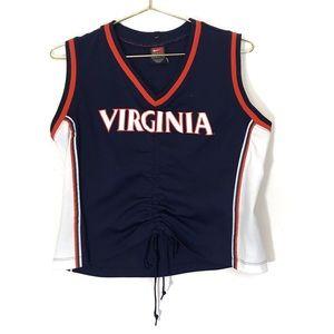 University of Virginia Crop Top Jersey UVA